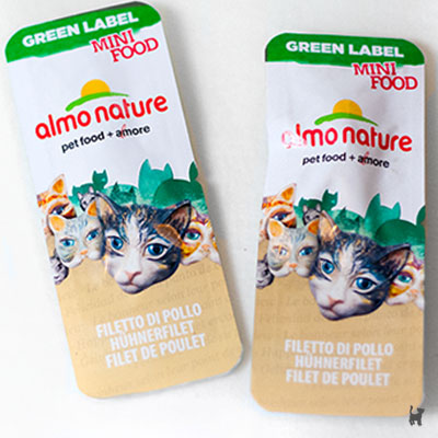 Almo Nature Mini Food Snacks für Katzen