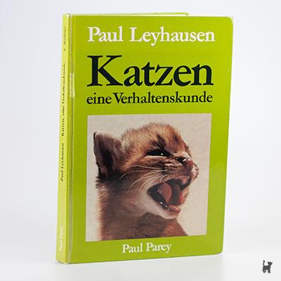 """Das Buch """"Katzen eine Verhaltenskunde"""" von Paul Leyhausen"""