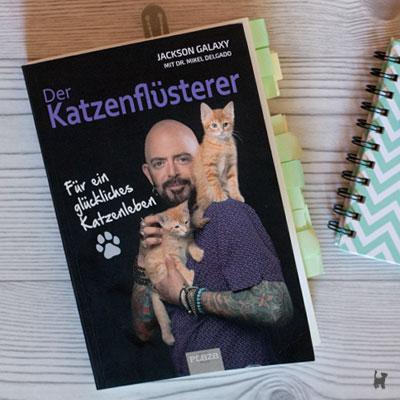 """Das Buch """"Der Katzenflüsterer - Für ein glückliches Katzenleben"""" von Jackson Galaxy"""