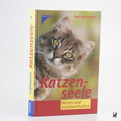 """Das Buch """"Katzenseele - Wesen und Sozialverhalten"""" von Paul Leyhausen"""