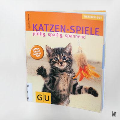 """Buch """"Katzenspiele - pfiffig,spaßig,spannend"""" von Gabriele Linke-Grün"""