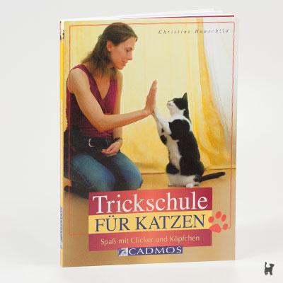 """Das Buch """"Trickschule für Katzen - Spaß mit Clicker und Köpfchen"""" von Christine Hauschild"""