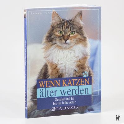 """Das Buch """"Wenn Katzen älter werden - Gesund und fit bis ins hohe Alter"""" von Susanne Vorbrich"""