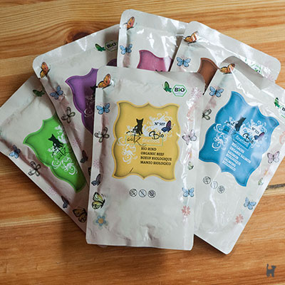 Catz Finefood Bio Nassfutter in Pouches