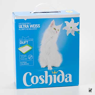 Coshida Ultra Weiss Katzenstreu