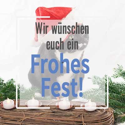 Wir wünschen euch frohe Festtage!