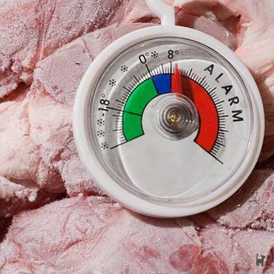 Fleisch sollte möglichst kalt verarbeitet werden