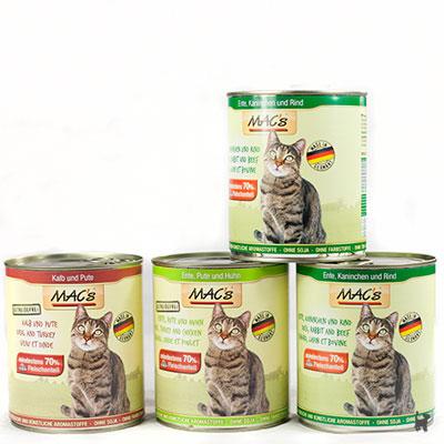 MacsCat Nassfutter für Katzen