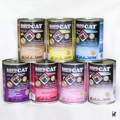 RopoCat Nassfutter für Katzen