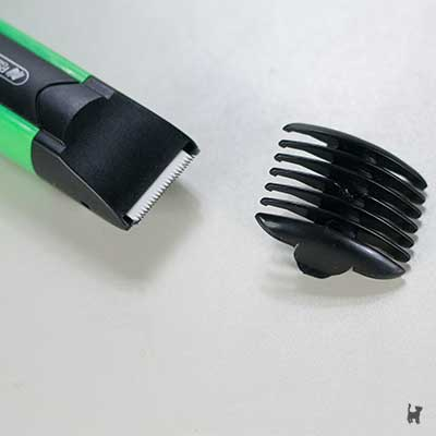 Scheraufsatz des Mini Pet Trimmer