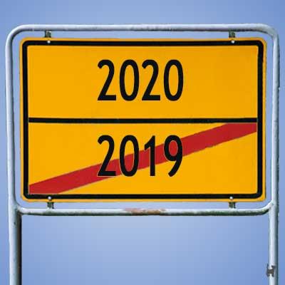 2019 geht, 2020 kommt...