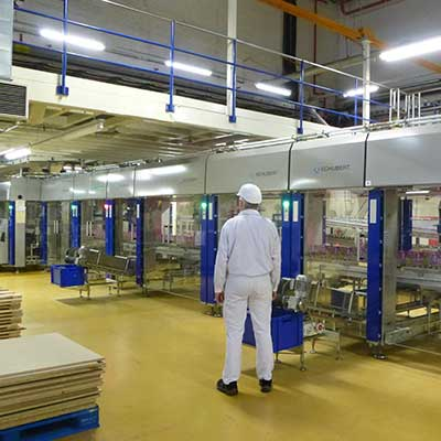 Produktionshalle im Marswerk Verden