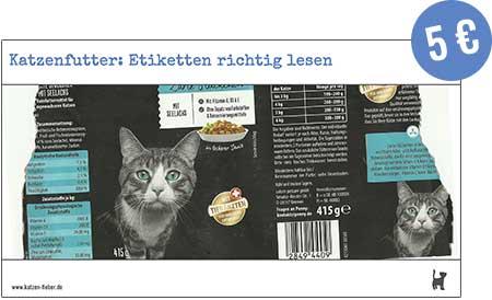 "Screenshot Webinar ""Katzenfutter: Etiketten richtig lesen"""