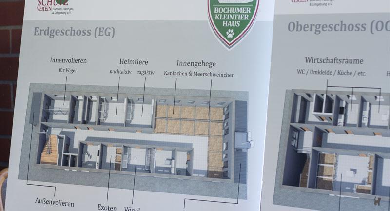 Bauplan Neubau Kleintierhaus