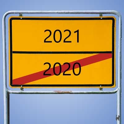 Bald ist es vorbei, das Jahr 2020...