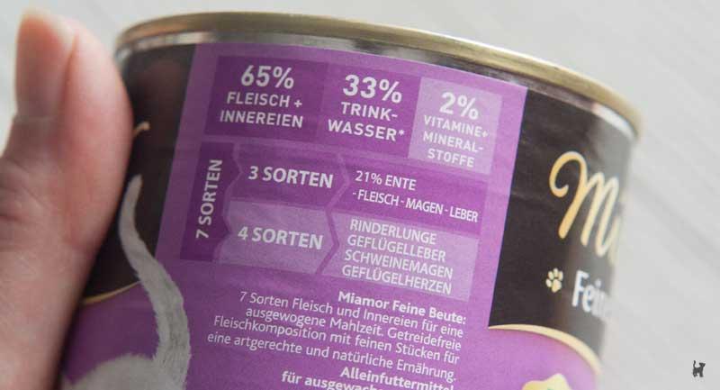 Fleischbarometer zeigt an, welche tierischen Bestandteile das Futter enthält